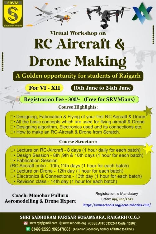 RC AIRCRAFT WORKSHOP1