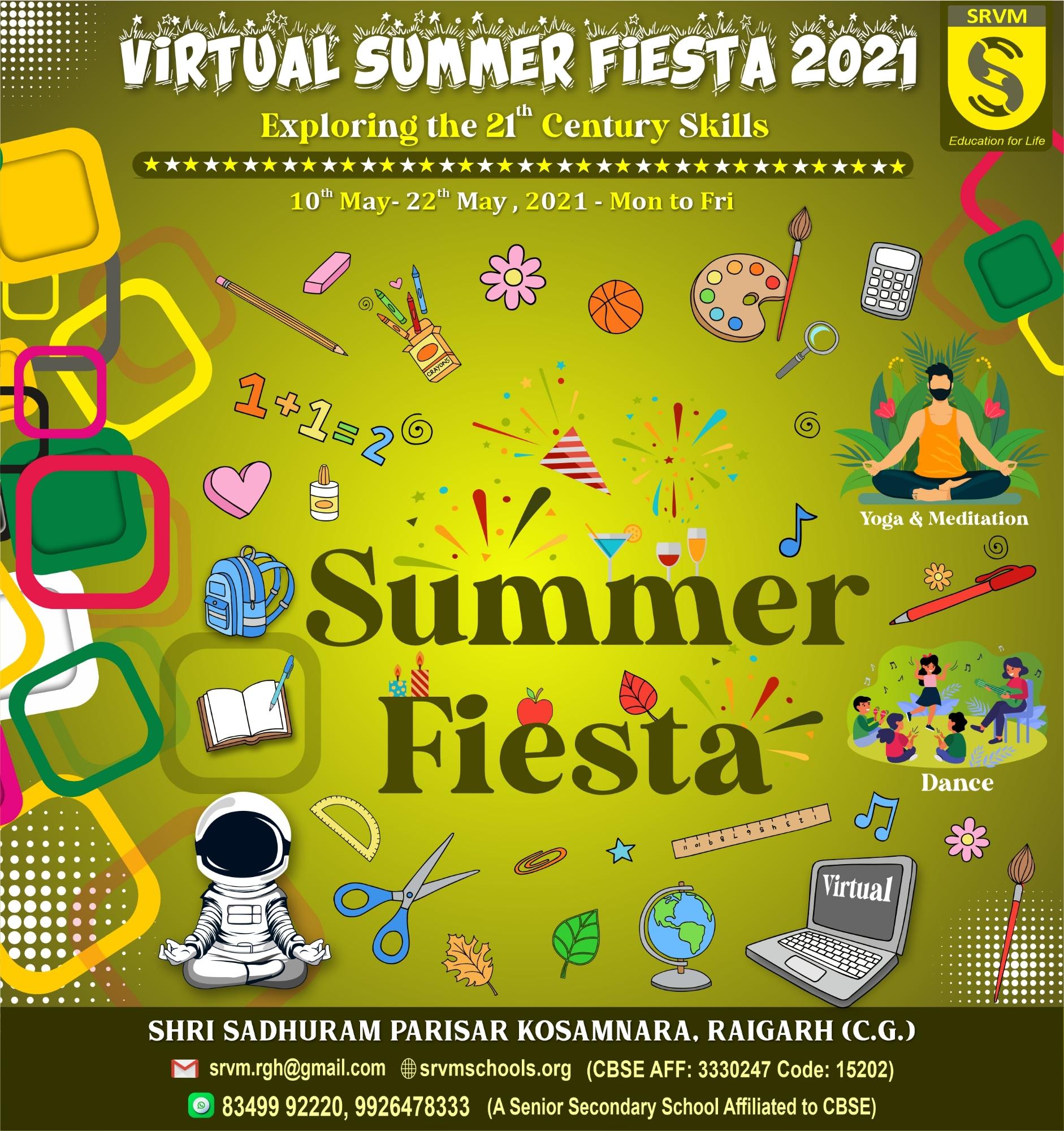 SUMMER FIESTA POSTER 2021